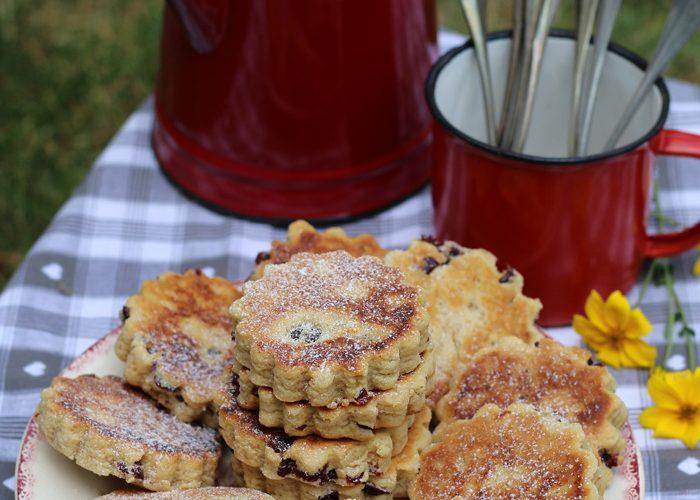 Welsh cakes, les gâteaux gallois à la poêle