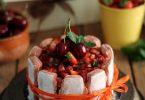 Charlotte fraises et cerises {Concours 5 ans}