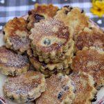 Welsh cakes aux cranberries