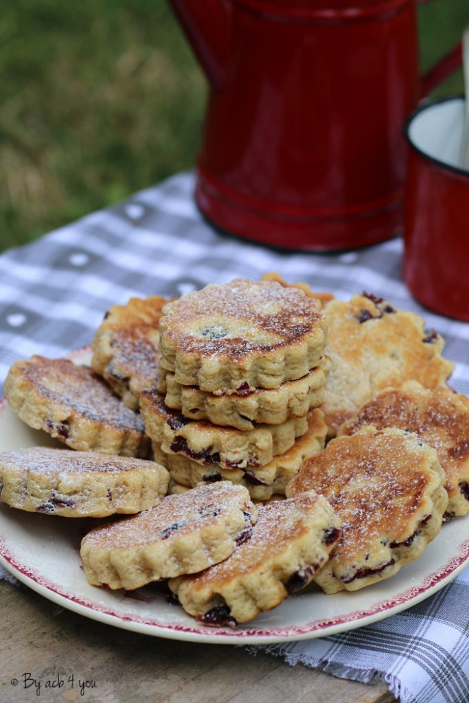 Cranberries welsh cakes