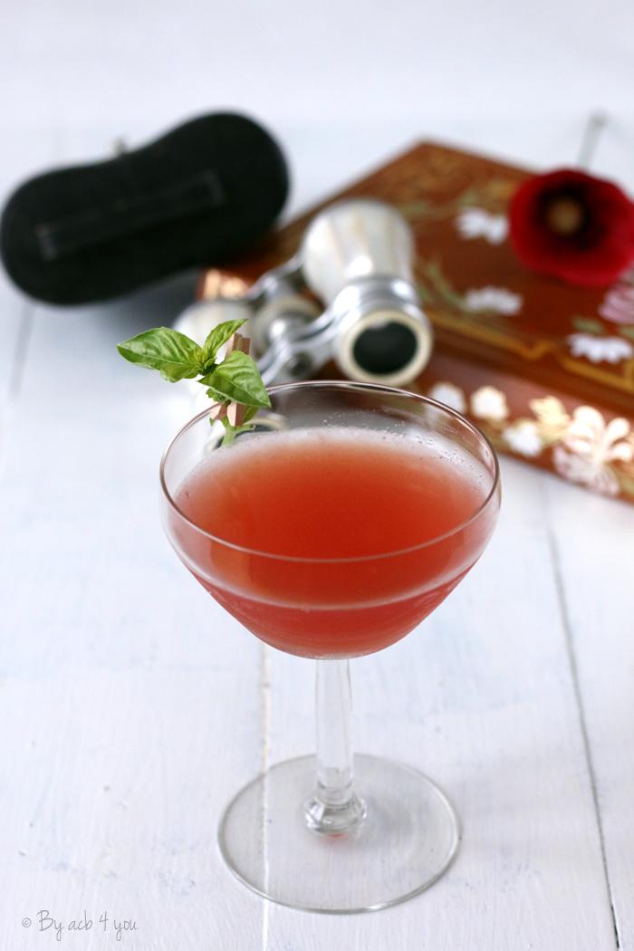 Red lagoon, un cocktail très pastèque et Calvados