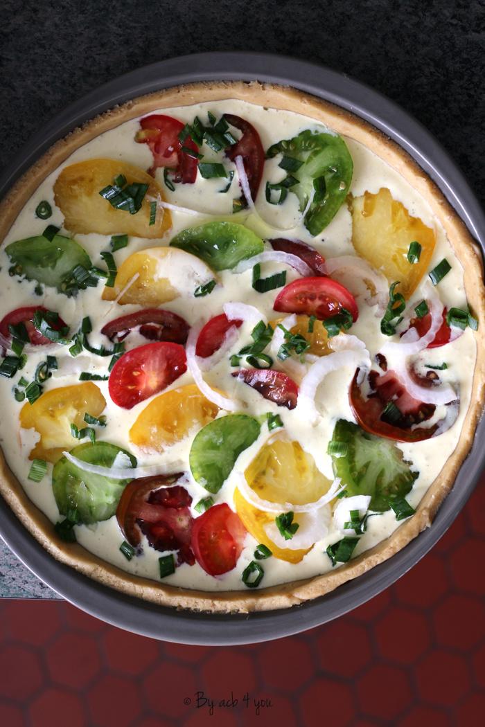 Tartes aux tomates et parmesan