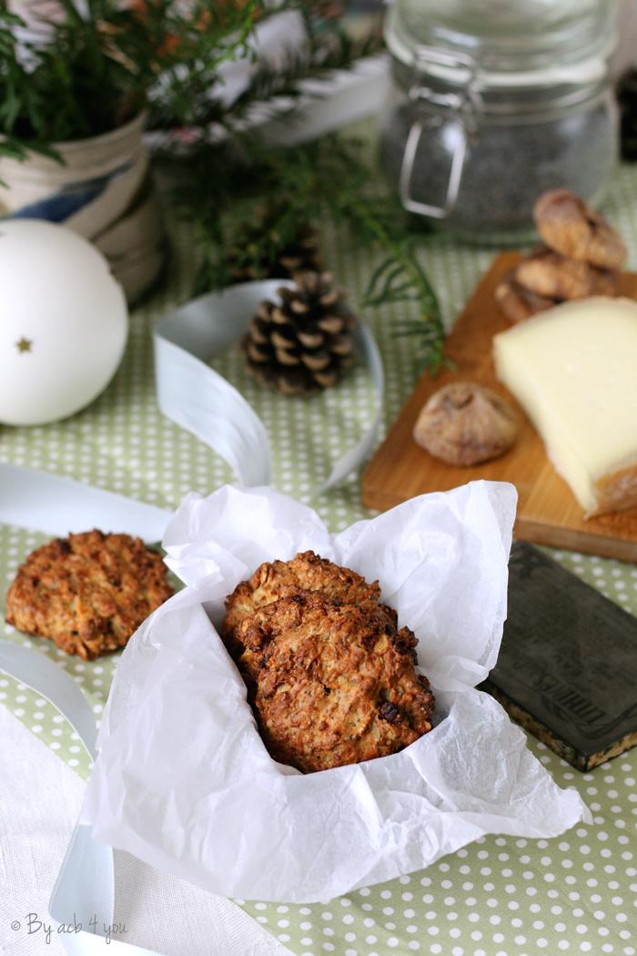 Cookies salés figues et brebis