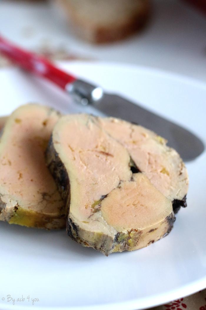 Foie gras à l'Armagnac et cacao façon médaillon {Concours inside}