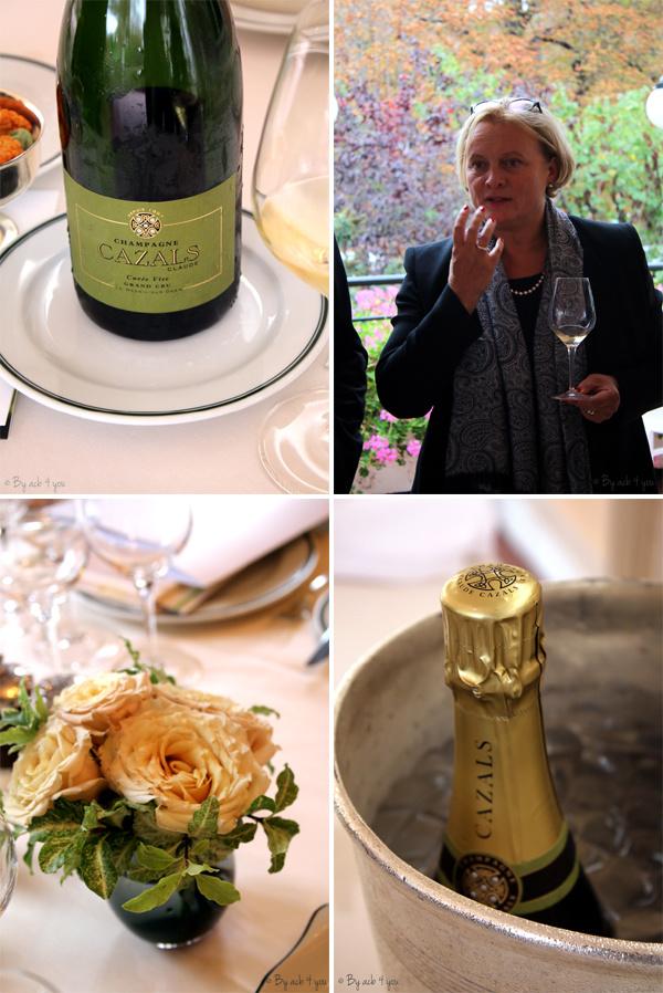 Champagne Cazals Cuvée vive extra brut grand cru , Delphine Cazals