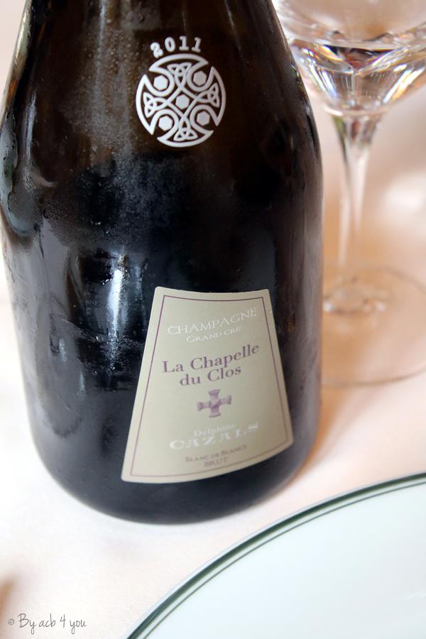 Champagne Cazals La Chapelle du clos 2011 brut grand cru