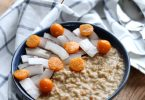 Porridge au beurre de cacahuète et un tour à Kalymnos