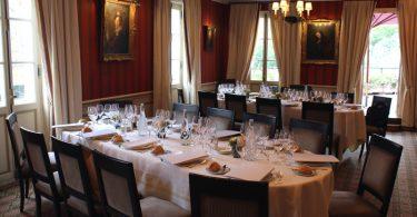 Un déjeuner au Laurent avec les champagnes Cazals