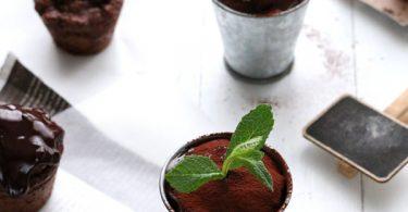 Muffins triple chocolat et beurre de cacahuète