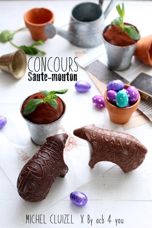 Muffins triple chocolat et beurre de cacahuète {Concours Michel Cluizel inside}