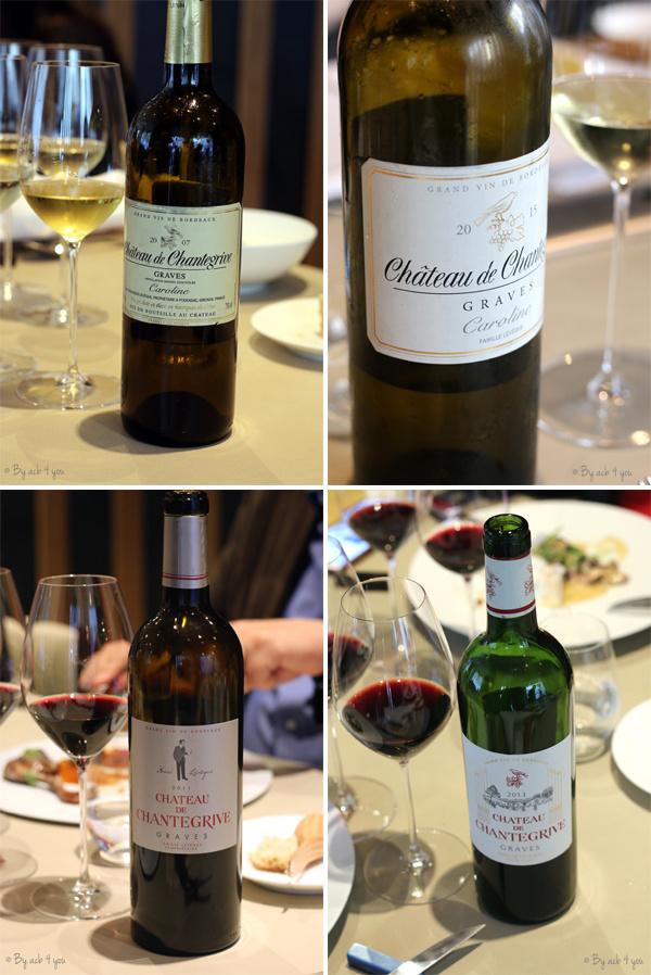 Les vins Château de Chantegrive