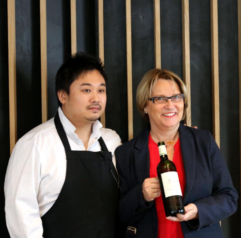 Yoshiaki Ito et Marie-Hélène Lévêque