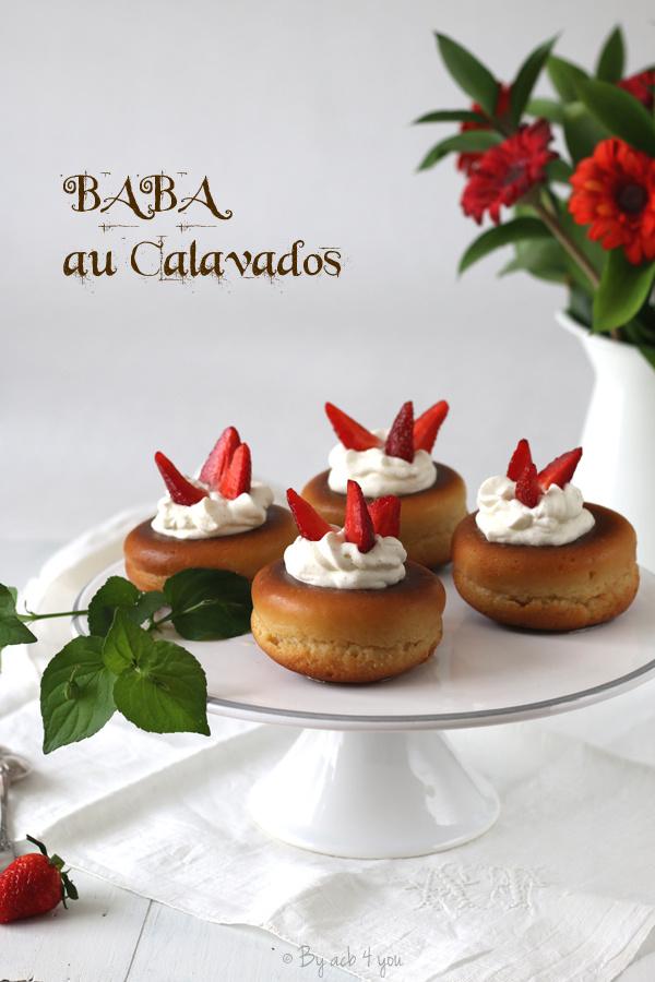 Baba au Calvados
