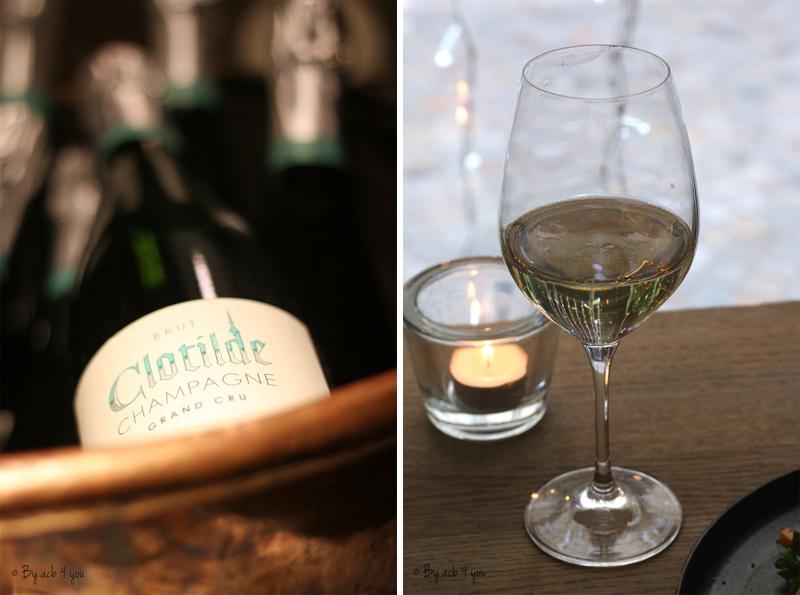 Champagne Clotilde / Terrine de campagne, picalilli et graines de moutarde