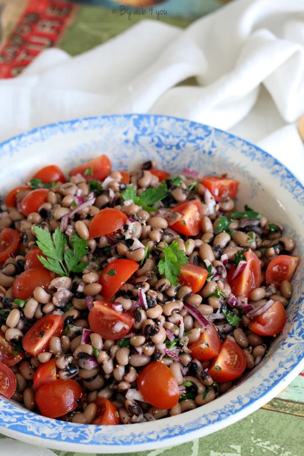 Salade de cornilles et tomates