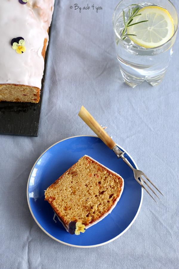 Cake à l'orange confite et Pousse Rapière