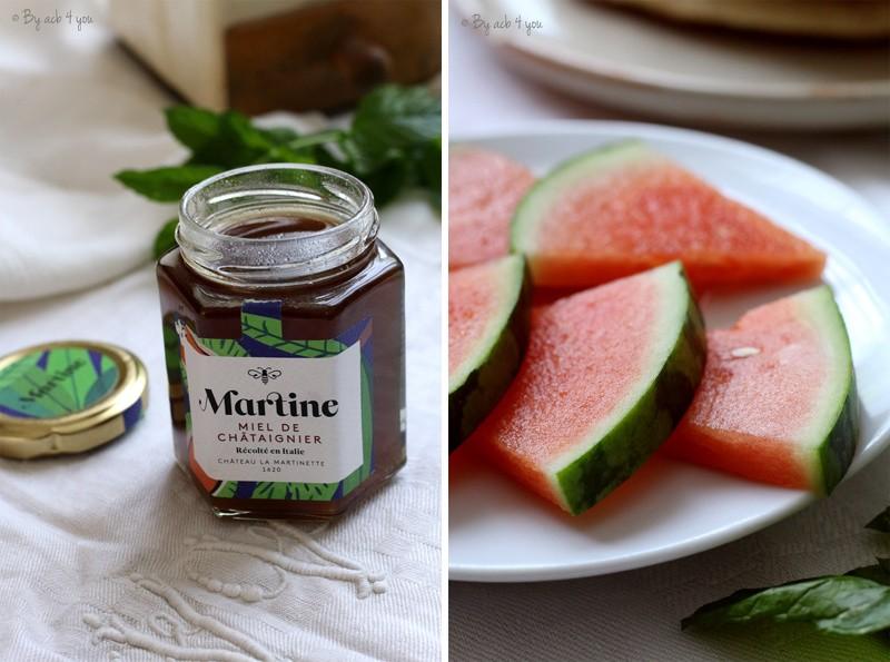 Jambon au miel de châtaignier pour un brunch {Concours Miel Martine}