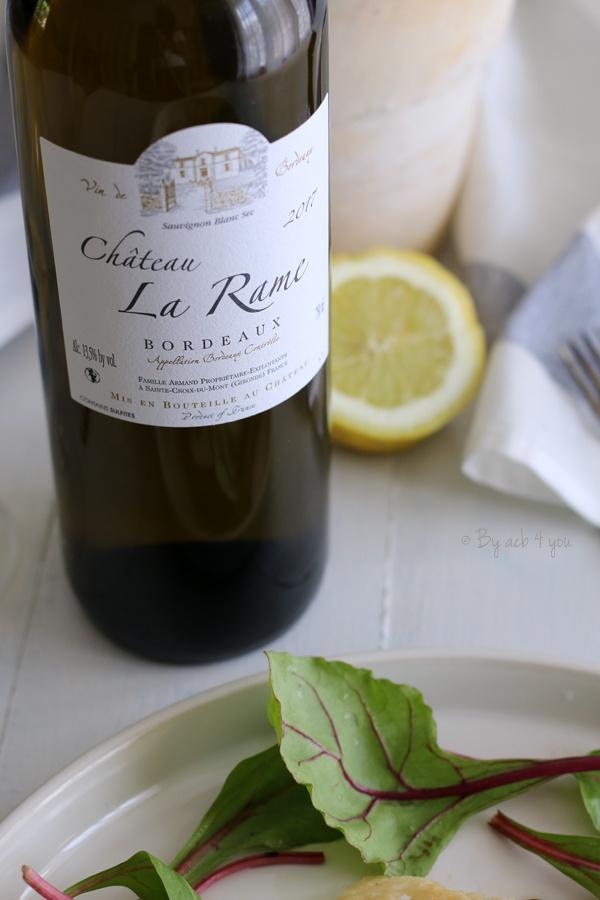 Bordeaux blanc millésimé 2017 Château La Rame
