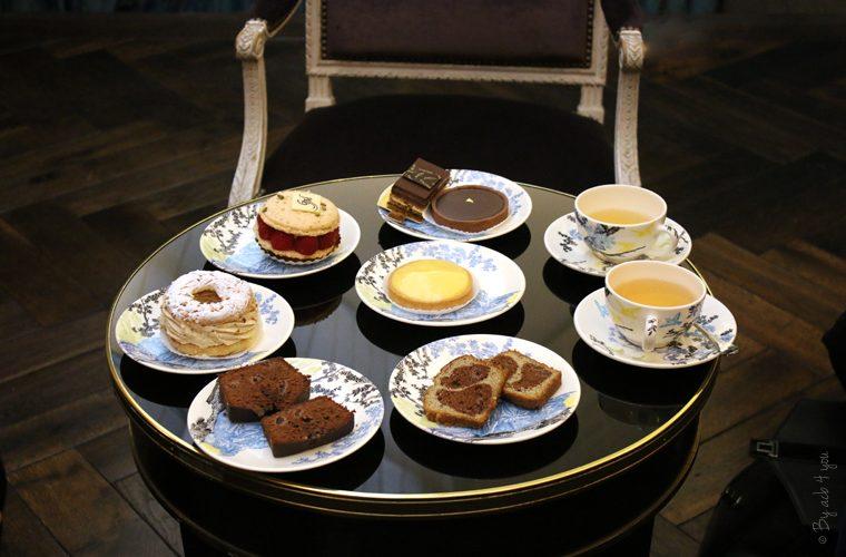 Tea time gourmand à l'hôtel de Buci