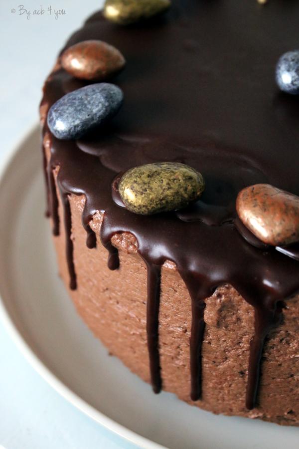 Layer cake tout chocolat