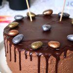 layer cake au chocolat de Pâques
