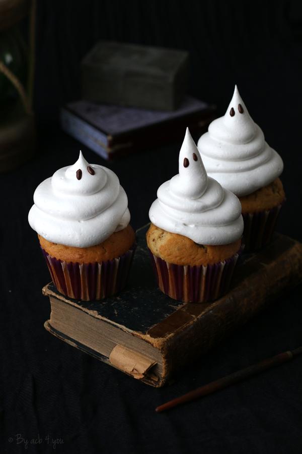 Muffins fantôme aux noix