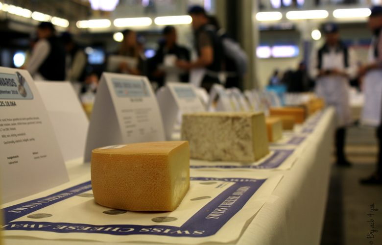 Table de fromages de Suisse aux Swiss cheese awards