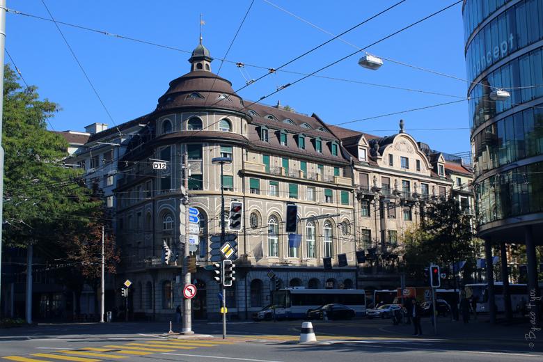 Carrefour à Lucerne