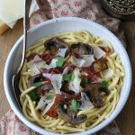 Spätzle au Sbrinz et viande des Grisons