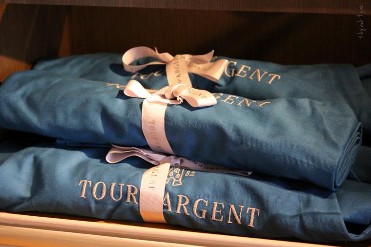Visite de la Tour d'Argent