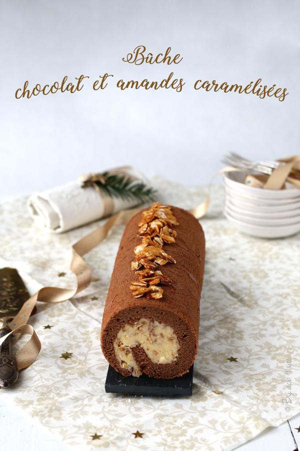 Biscuit roulé et crème vanillée