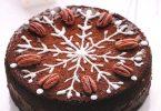 Gâteau de Noël aux noix de pécan