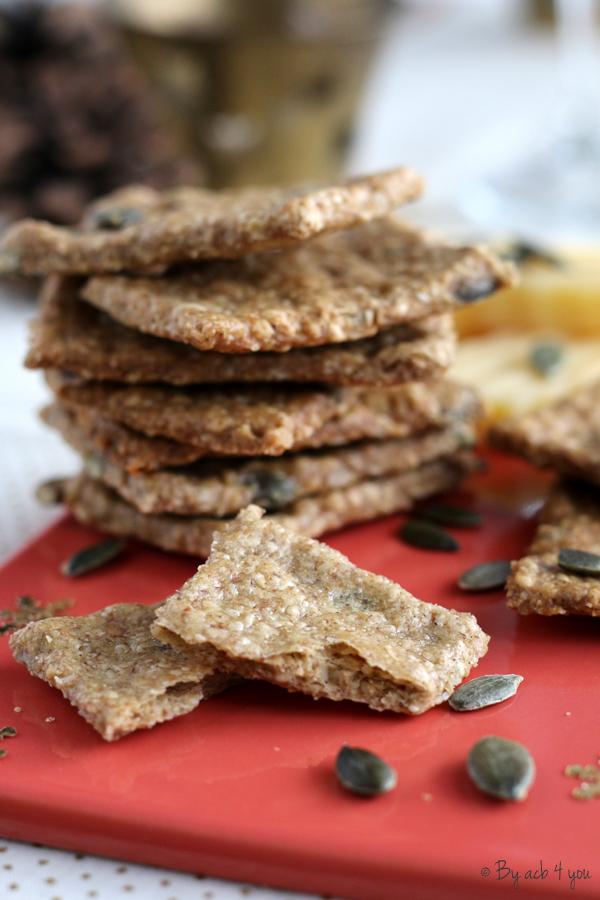 Crackers aux graines danois
