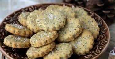 Biscuits salés apéritifs au pavot