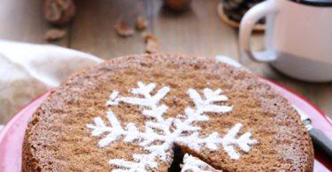 Gâteau aux noix pour Noël