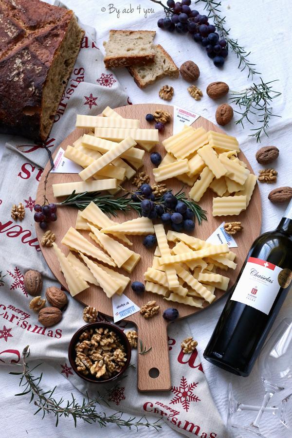 Plateau apéritif de fromages de Suisse