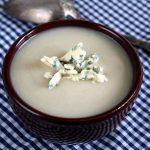 Soupe de céleri au bleu d'Auvergne