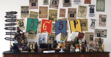 Décoration pour un anniversaire Harry Potter