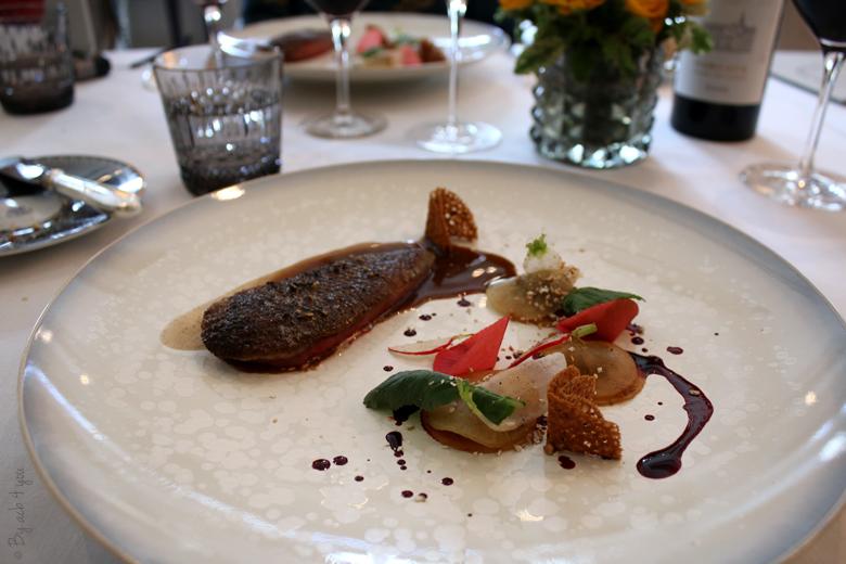 Déjeuner à l'Abeille avec les Margaux du Château Lascombes