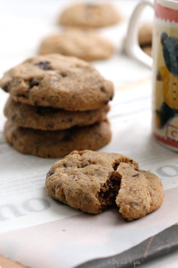 Les Cookies au chocolat et noisettes de Laura Todd