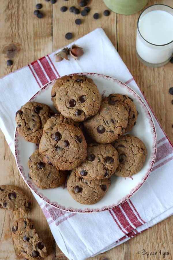 Cookies chocolat et praliné