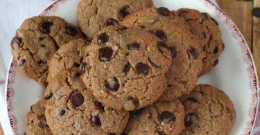 Cookies au praliné et chocolat
