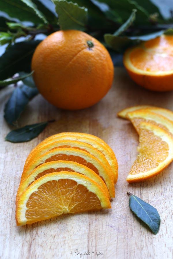 Pintade à l'orange