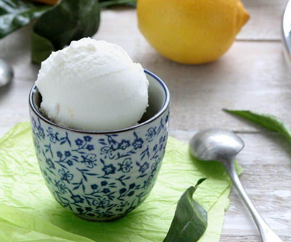 Glace au citron bergamote