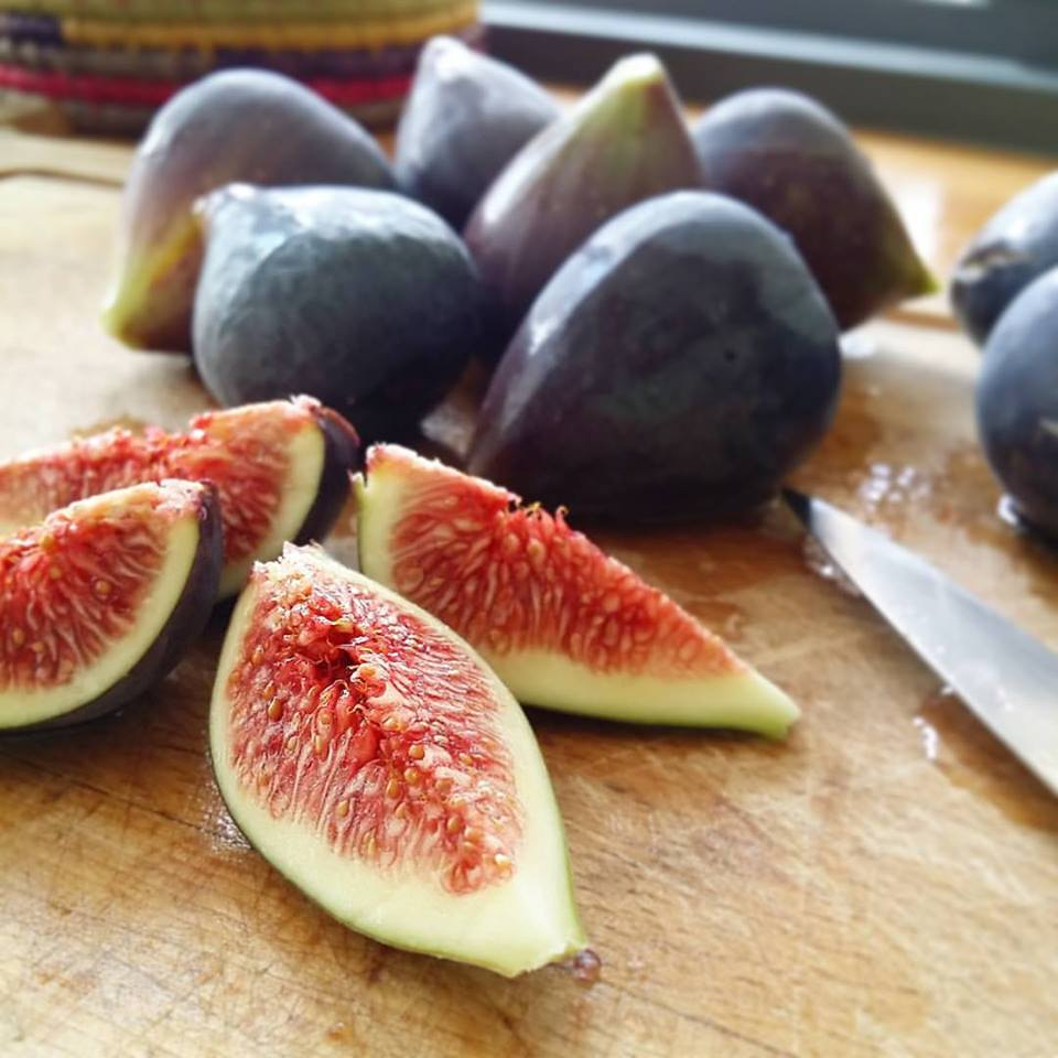 Tarte aux figues et au miel