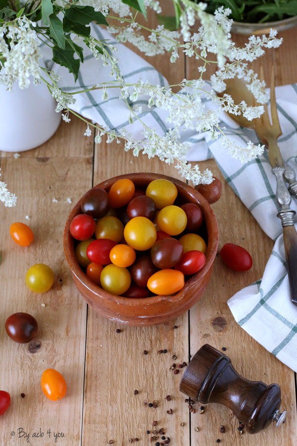 Cheesecake à la tomate, ricotta et basilic