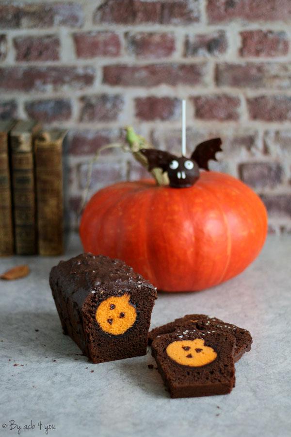 cake surprise d'Halloween