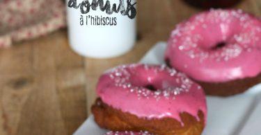 Mes donuts à l'hibiscus pour Octobre rose