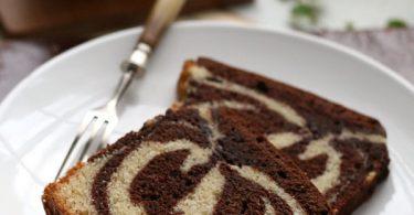 Gâteau marbré façon cake