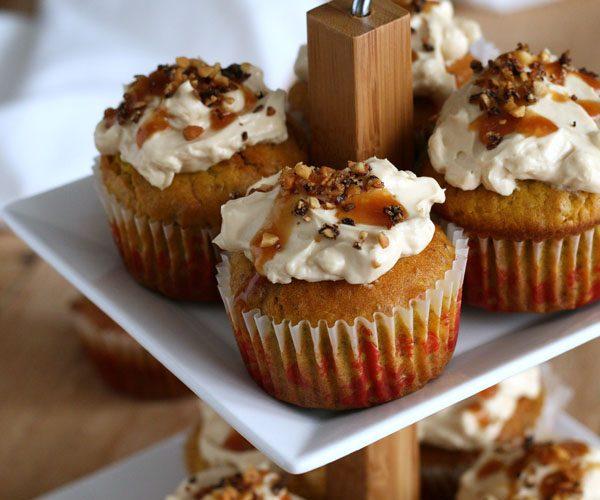 Muffins au potimarron et caramel